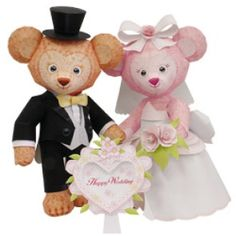 Paper Model - Wedding Teddy Bear