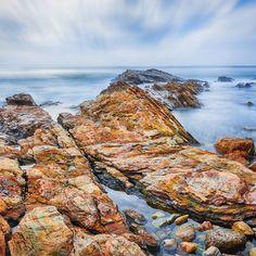 Rocky Shoreline in Corona Del Mar by Nazeem S on Sky, Heaven, Heavens