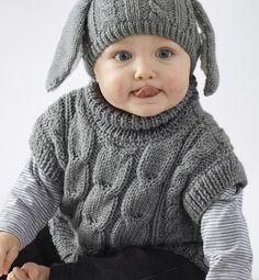 modele poncho bebe phildar gratuit