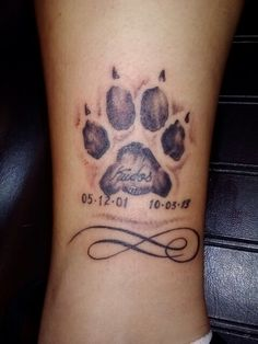 Nov 2019 - Despite short life, people enjoy happiness with them. There's nothing more precious than having a paw print tattoo to preserve the memorable moment. Tribal Tattoo Designs, Tattoos Tribal, Dreamcatcher Tattoos, Celtic Tattoos, Dog Tattoos, Small Tattoos, Tatoos, Raabe Tattoo, Glyph Tattoo