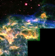 HubbleSite - NewsCenter - Hubble Watches Star Tear Apart its Neighborhood (07/13/2000) - Release Images