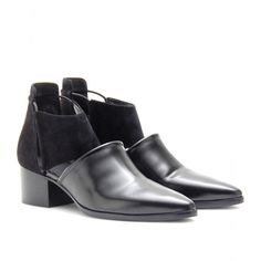 mytheresa.com - Alexander Wang - NADINE SUEDE ANKLE BOOTS - Luxury Fashion for Women / Designer clothing, shoes, bags