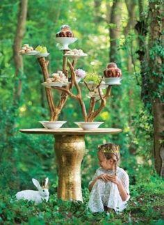 Rainforest high tea