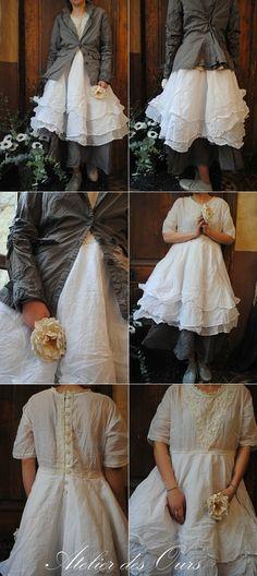 Des jupons, des dentelles, des liberty pour rêver et s'amuser avec la nouvelle collection Ewa IWalla