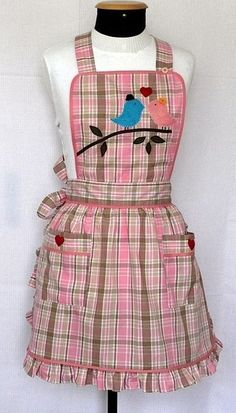 Retro Apron Patterns, Dress Sewing Patterns, Bib Apron, Apron Dress, Teacher Apron, Cool Aprons, Childrens Aprons, Apron Designs, Linen Apron