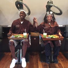 "Ming-Na Wen on Instagram: ""Synchronized Hair Care! Haha Lunch date at @chazdean salon with my pal @iambjbritt! Yeah, it happened! #TooMuchFun #AgentsofSHIELD #twopeasinapod #beauty #hair"""