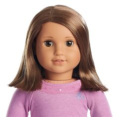 Just Like You#28 is a Just Like You doll. She was released in 2006. Features Face Mold: Josefina Mold, Skin: Medium, Brows: Feathered, Hair: Brown with highlights, right side part, shoulder length, Eyes: Brown
