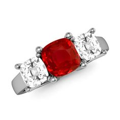 The Jubilee Ring Ruby Ring, Ruby Ring