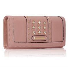 Peňaženka s kamienkami Styla, nude 14937
