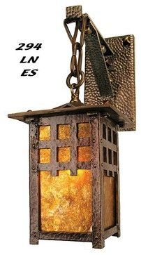 MIssion, Arts and Crafts, Craftsman, Rustic Lighting craftsman wall sconces