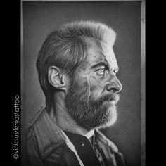 Desenho Logan, Grafite Sobre Papel Fabriano 4L 25x35, #viniciusrafaellemos #viniciusrlemostattoo #drawing #desenho #grafite #drawingrealistic #desenhorealista #wolverine #logan #marvel #drawinglogan #hughjackman #hughjackmandrawing #horitattoohouse #hth #sjc #sjctattoo #thehughjackman #loganmarvel #xmen