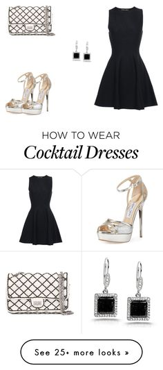 """192 outfit"" by julieannbb13 on Polyvore featuring Proenza Schouler, Kobelli, Jimmy Choo and Chanel"