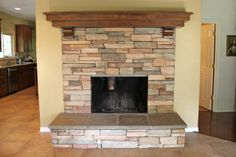 stone work for woodstoves - Google Search