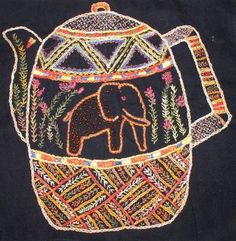 African Folklore Embroidery and Needlecraft Kits and Supplies