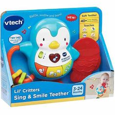 VTech Lil Critters Sing and Smile Teether
