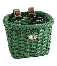 """Basket Nantucket Youth Buoy Green by Nantucket. $24.99. Nantucket Buoy - Designed with young boys and girls in mind, painted in bold colors to add excitement to a child's bicycle. Rectangle, 10.5x8x7.5"""", Green."""