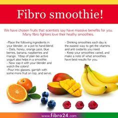 Fibromyalgia Friendly Recipes: Fibro Smoothie