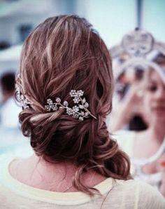 Wedding Hair, pretty ornament