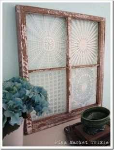 Windows n doilies
