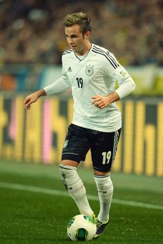 <3 Mario Gotze the bae just scored the first goal of the world cup final for Germany!