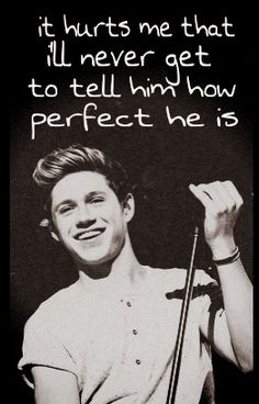 When i say hes perfect i dont mean that he has no flaws i mean that he is perfect in the way i need him to be -Maddie