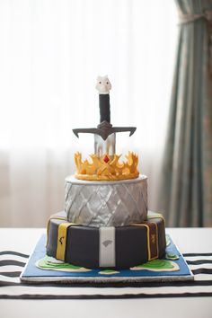 Game of Thrones Wedding Cake  #AustinWeddingPhotographer #GameofThrones