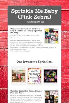 Sprinkle Me Baby (Pink Zebra)