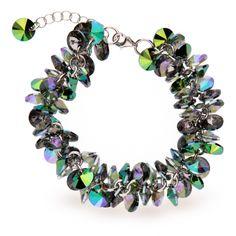 Серебряный браслет Spark Frou-Frou со Swarovski модели BD6428SGPS. Цена: 3450 грн.   #браслет #swarovski #bracelet #сваровски #prizma #silver jewelry #odessa