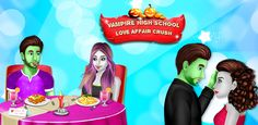 Play as a in this and enjoy the with tons mysterious secrets. Vampire Love Story, Vampire Girls, Vampire High School, Free Halloween Games, High School Love, Happy New Year 2018, Love Affair, Mysterious, Mystery