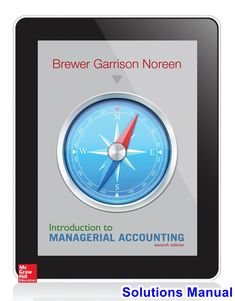 30 best solutions manual download images on pinterest introduction to managerial accounting 7th edition brewer solutions manual test bank solutions manual fandeluxe Choice Image
