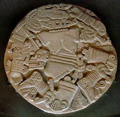 Moon Goddess Coyolxauhqui. Templo Mayor (Tenochtitlán) Mexico City