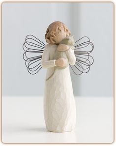 """WillowTree Angel """"With affection"""" - I love our friendship!"""