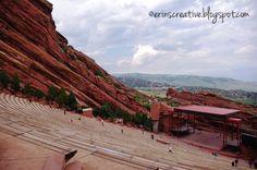 Colorado Vacation: Red Rocks Amphitheater ... I had my High School Graduation here