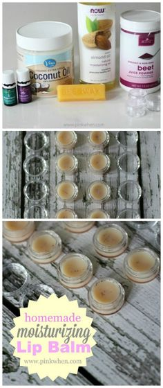 DIY Homemade Moisturizing Lip Balm