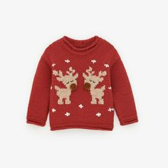 Free Baby Sweater Knitting Patterns, Knitting For Kids, Knit Patterns, Ugly Xmas Sweater, Holiday Sweater, Christmas Sweaters, Cross Stitch Christmas Cards, Baby Sweaters, Handmade Baby