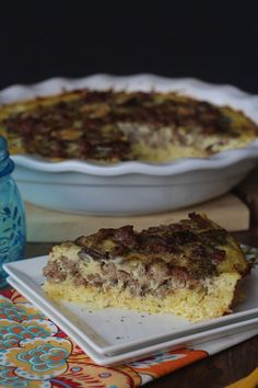 PaleOMG – Paleo Recipes – Spaghetti Squash Crusted Quiche. Of course, I'd swap out the sausage with some yummy veggies.