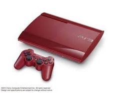PlayStation 3 Super Slim Blue and Red Models Confirmed for Japan The Sims, Sims 3, Infamous 2, Ni No Kuni, Playstation 3 Super Slim, Newest Playstation, Assassins Creed 2, Devil May Cry 4, Epic Mickey