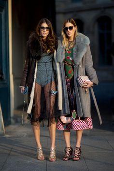 Street style : les plus beaux looks repérés au défilé Dior | Le Figaro Madame