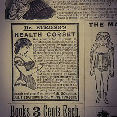 Ad from Godey's Lady's Book, Dec. Lady, Book, Instagram Posts, Woman, Livres, Books, Libros, Blurb Book, Libri