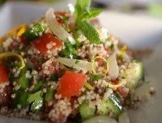 Couscous Salat mit Tapenade