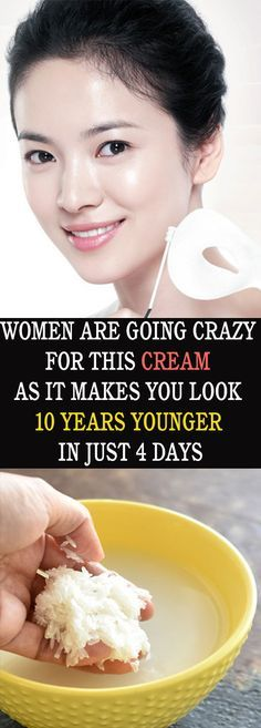 WOMEN ARE GOING CRAZY FOR THIS CREAM AS IT MAKES YOU LOOK 10 YEARS YOUNGER IN JUST 4 DAYS#health #beauty #getrid #howto #exercises #workout #skincare #skintag #bellyfat #homeremdieds #herbal