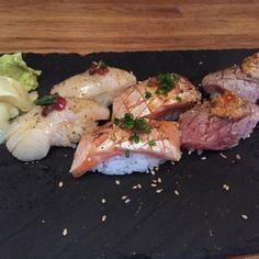 Aburi Sushi from Dozo Soho