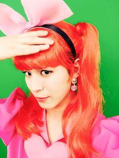 Hongbin (@RedBeans93):      변신. 쀼잉뀨잉~~   Transform. Bbuing kkuing~~  Hongbin (@RedBeans93) Reply:      @RedBeans93 아.. 해킹하지말아주세요 정말 …  @RedBeans93 Ah.. please don't hack me …  Trans. cr: fyeah-vixx