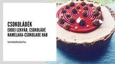 Csokoládé és málna Cake, Food, Kuchen, Essen, Meals, Torte, Cookies, Yemek, Cheeseburger Paradise Pie