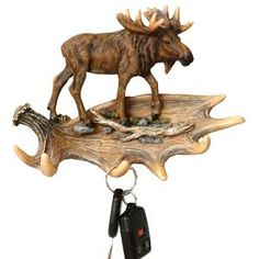 Shop for moose decor, lamps, and moose gifts at Black Forest Decor, including cabin accessories and other wildlife decor. Moose Lodge, Moose Deer, Moose Antlers, Moose Art, Country Decor, Rustic Decor, Moose Pictures, Black Forest Decor, Moose Toys