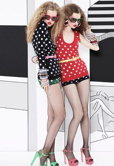 Lindsey Wixson and Anais Pouliot for Miu Miu Resort 2011