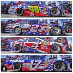 Patriotic paint schemes!