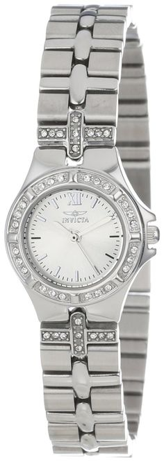 #Invicta #Watch , Invicta Women's 0132 Wildflower Collection Crystal Accented Stainless Steel Watch