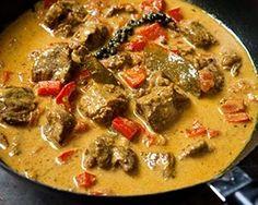 Panang Beef Curry at UK TV.