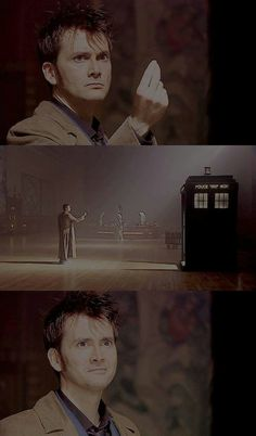 First snap to open the Tardis